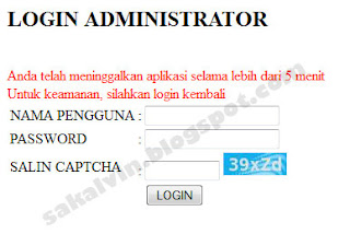 Secure Login Sakalvin