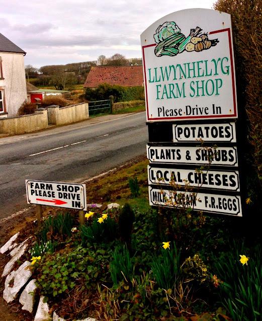 Llwynhelyg Farm Shop, Sarnau, Ceredigion