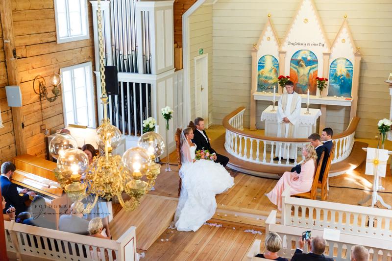 Vielse, bryllup, Revheim Kirke,