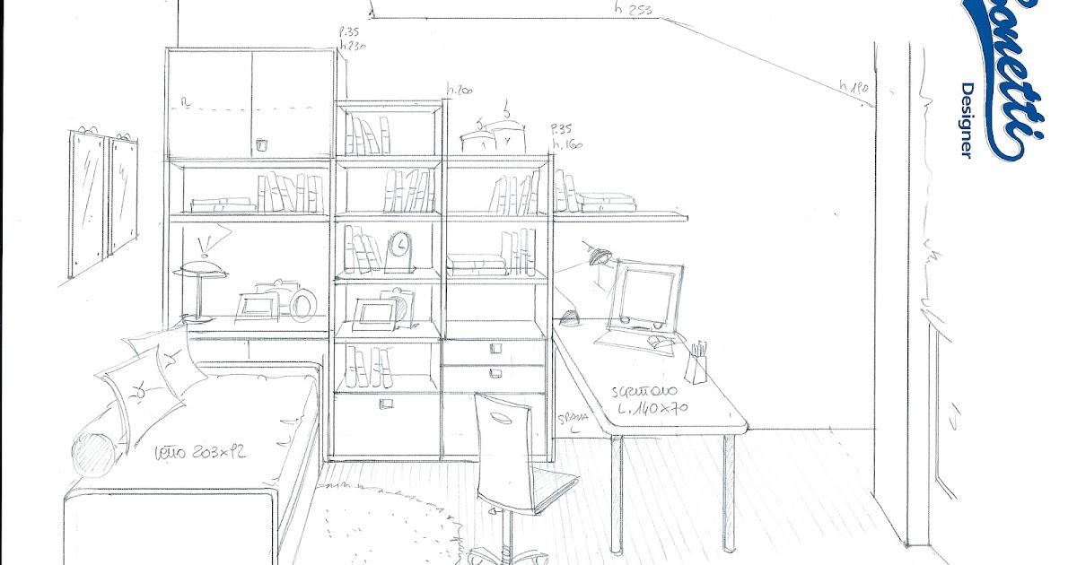 Esempi Di Camerette Per Bambini : Bonetti camerette bedrooms scrivanie