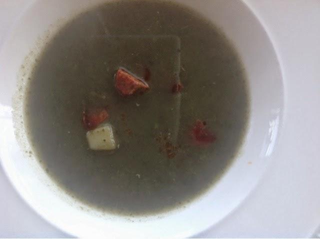 boerenkoolsoep met chorizo