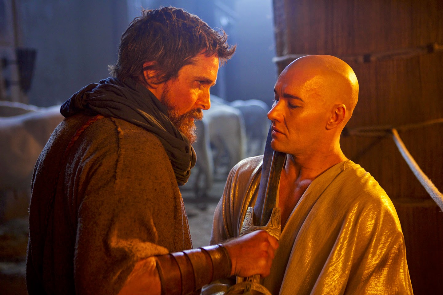 Christian Bale and Joel Edgerton - Exodus: Gods and Kings