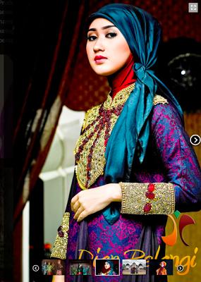 Koleksi Baju Muslim Dian Pelangi Terbaru