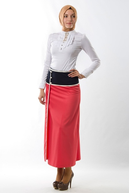 Milaj Giyim 2013 Tesettür Etek Modelleri