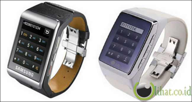 LG GD910 Watch Phone and Samsung S9110 Watch Phone