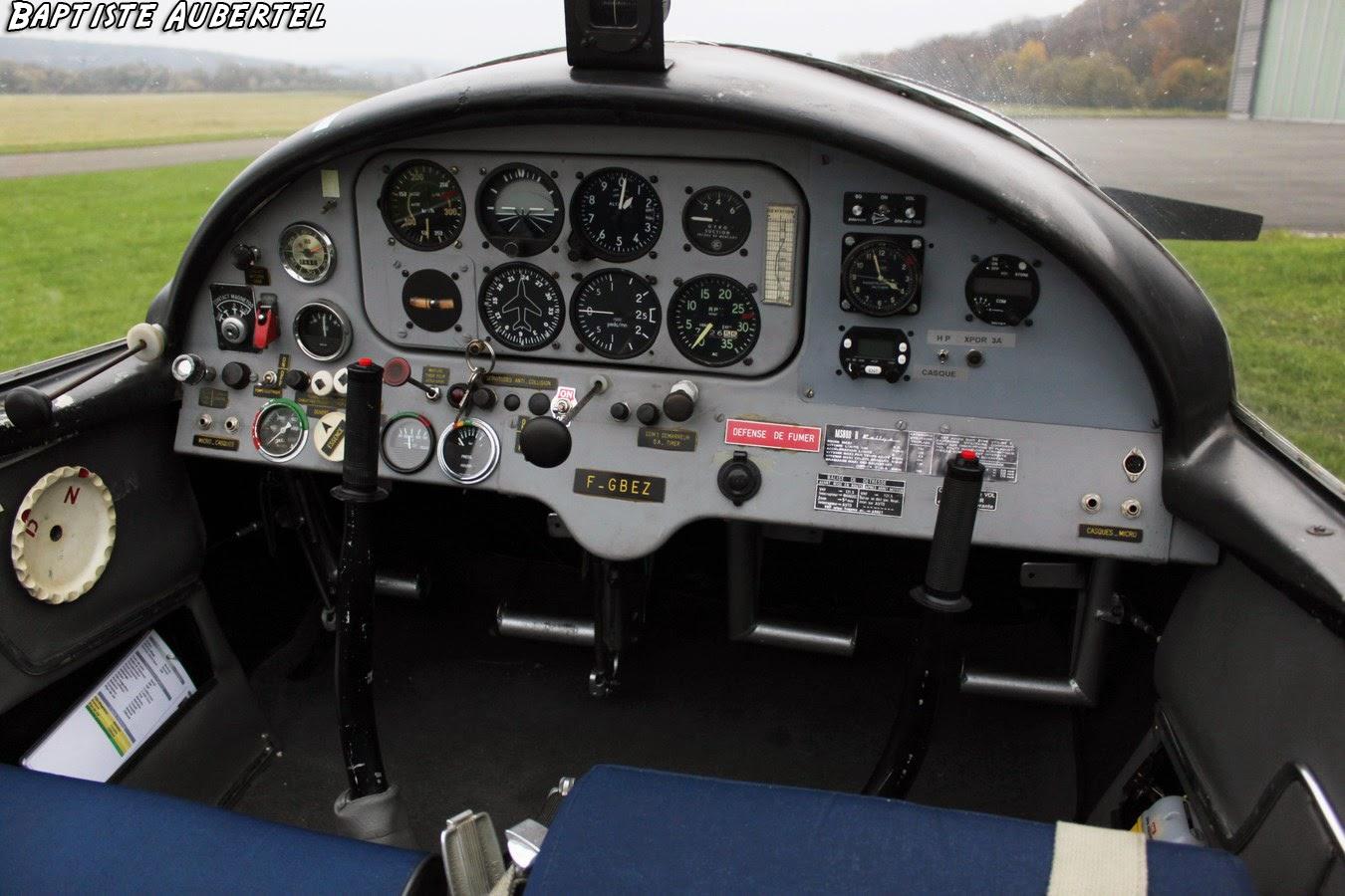 Socata Rallye MS 880 B Cockpit