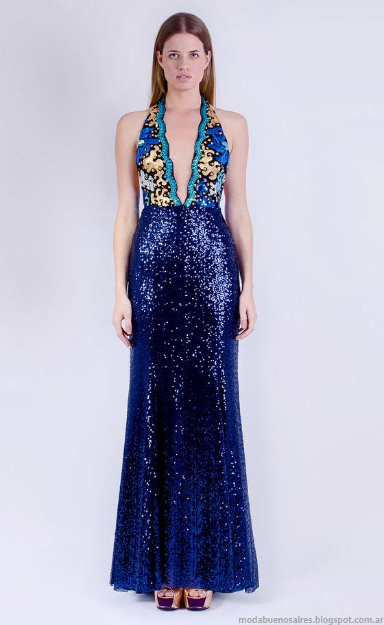 Moda vestidos de fiesta 2015 Natalia Antolin. Moda verano 2015 vestidos.