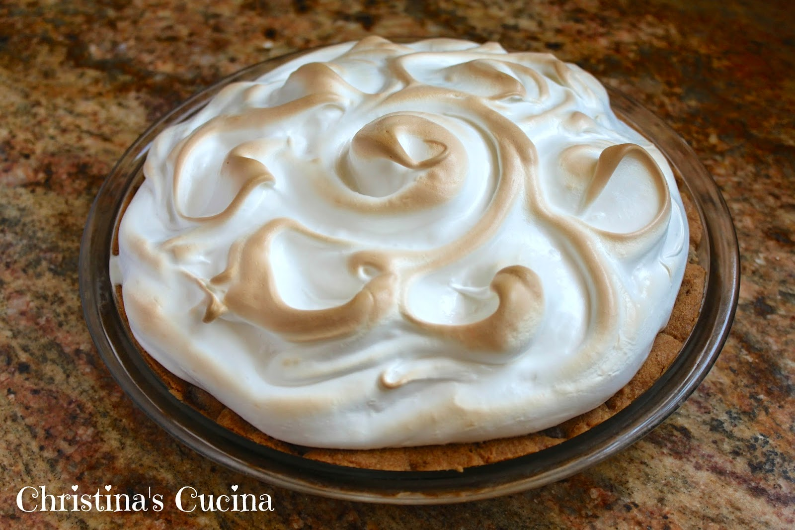 ... Father's Day, may I Suggest a Chocolate Chip Cookie Baked Alaska Pie
