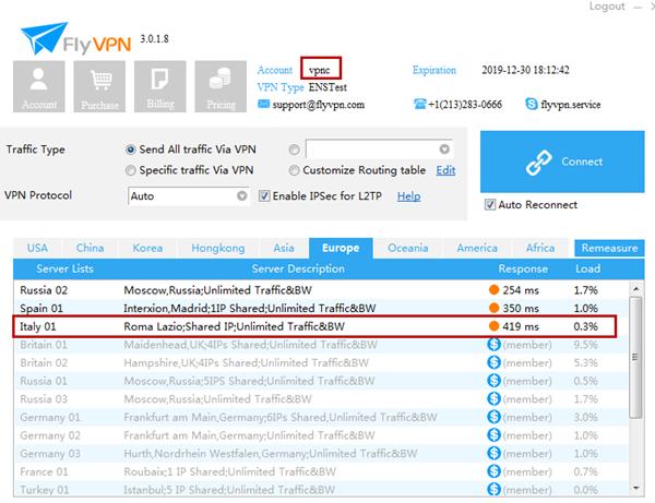 Italy-VPN-Server