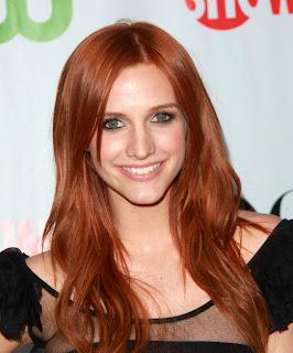 Ashlee Simpson long red hair Ashlee Simpson Hairstyles