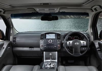 2012 Nissan Navara Interior