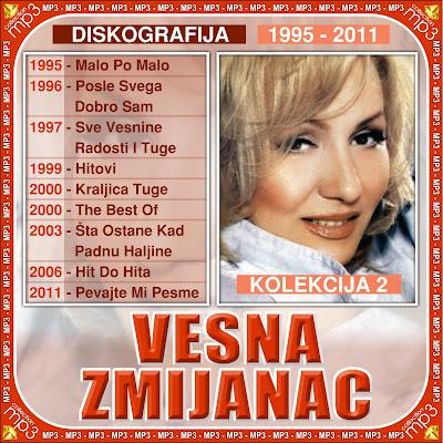 Vesna Zmijanac – Diskografija (1979-2011) Vesna+Zmijanac+2-1