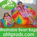 Doll-Sized Bean Bag Chairs! :)