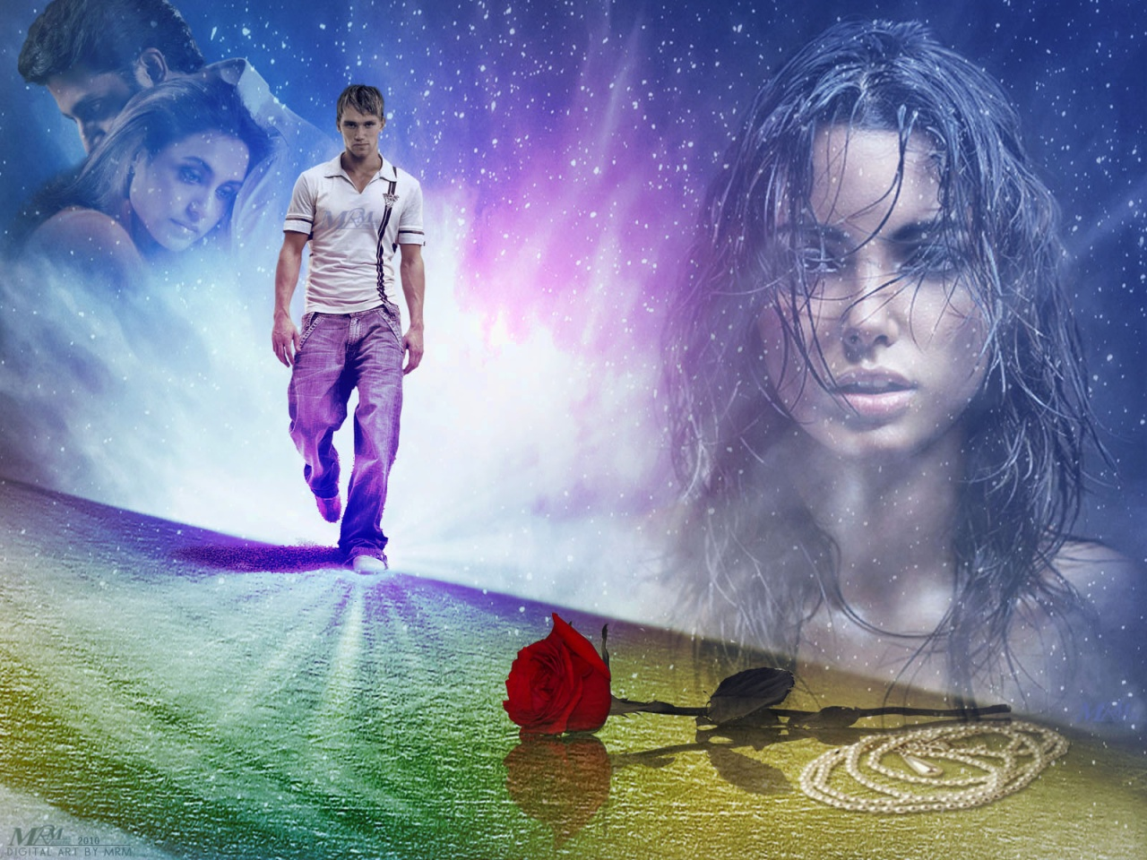 lamenik: fantasy art love