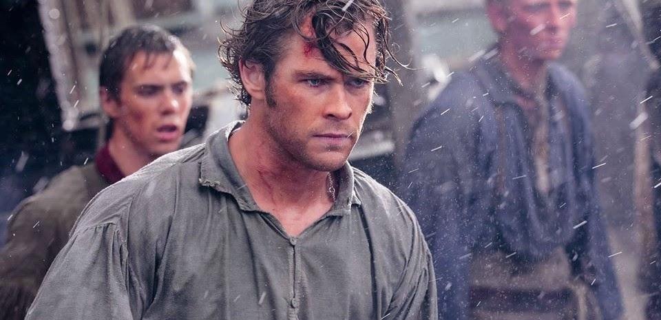Chris Hemsworth não tem medo no segundo trailer de O Coração do Mar, novo filme de Ron Howard