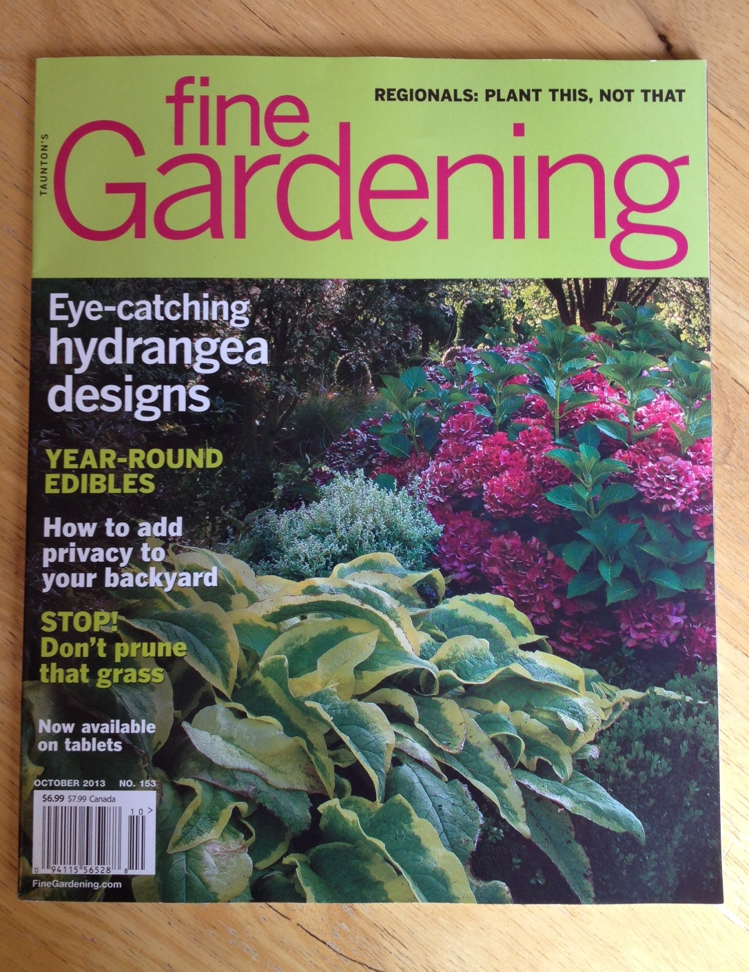 Yep, I Finally Managed To Get Into Print At One Of Americau0027s Top Gardening  Publications, Fine Gardening. A While Back I Submitted A Piece That Was  Accepted ...