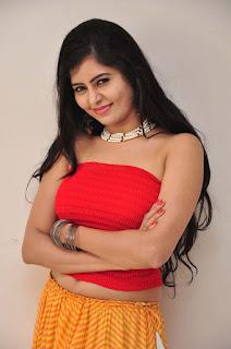 Actress Madhumitha Stills at Lajja Movie Teaser Launch 02