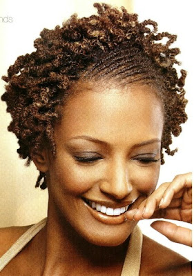 African American Black Short Braided Curly Hairstyles