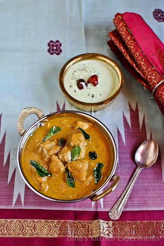 Mangalorean Chicken Curry / Kori Gasshi / Chicken in Coconut Gravy ...