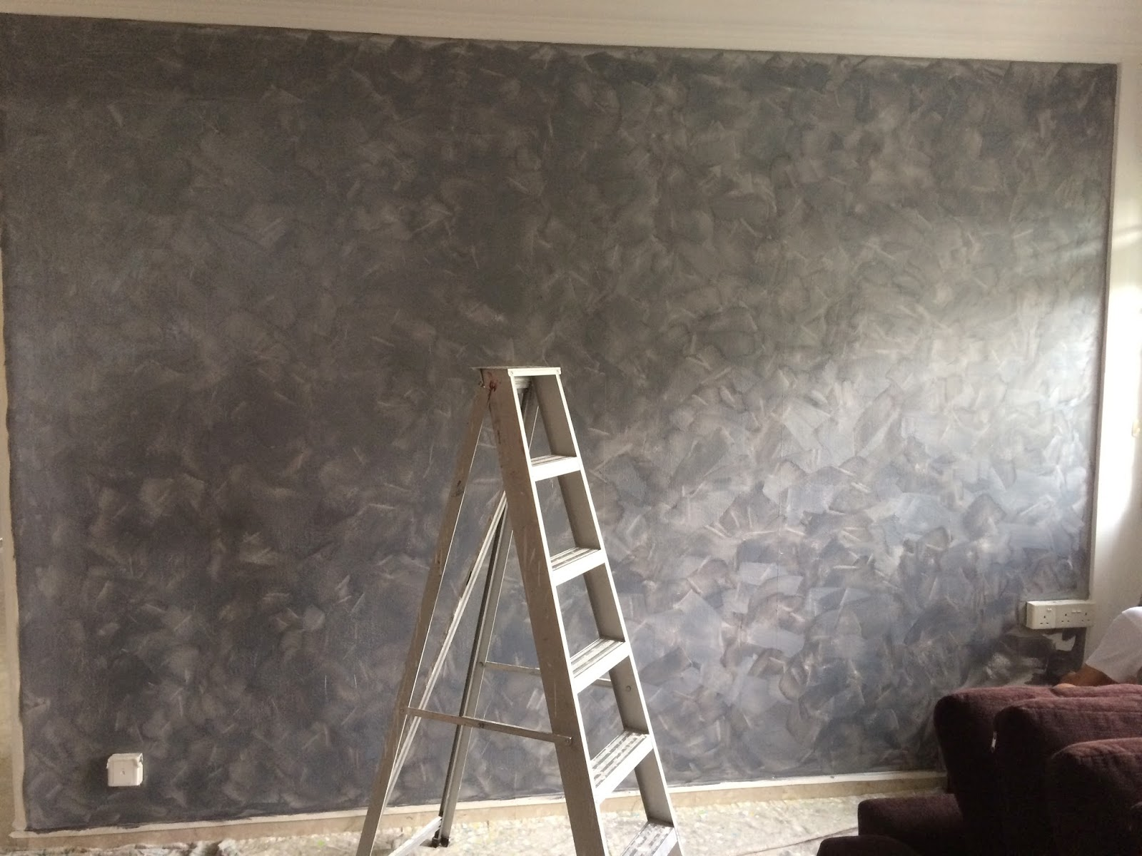 pro house painting handyman work momento feature wall