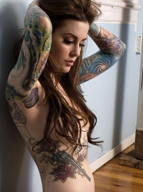 Inkcouragement 04 01 2012 05 01 2012 for Hot chics with tattoos