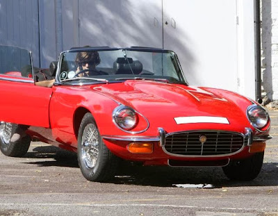 The cars of Harry Styles Jaguar E-type
