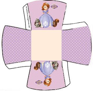 Caja abierta para pasteles o golosinas.