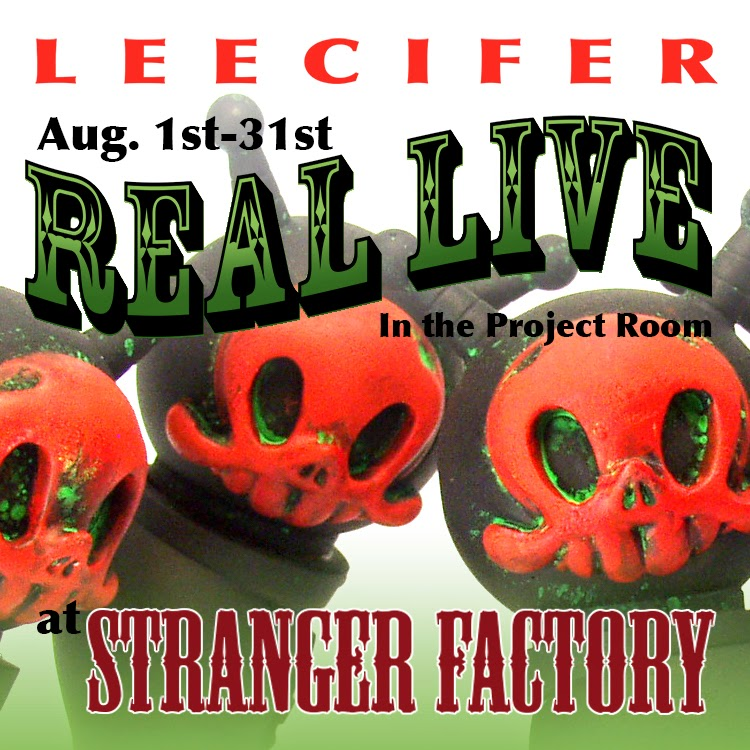 """Real Live"" Solo Art Show by Leecifer"