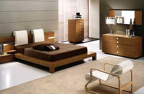 deluxe home furnishing: bedroom decorating ideas