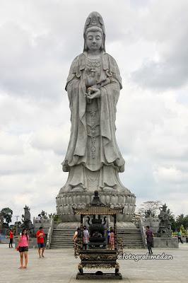 patung dewi kwan im fotografi medan