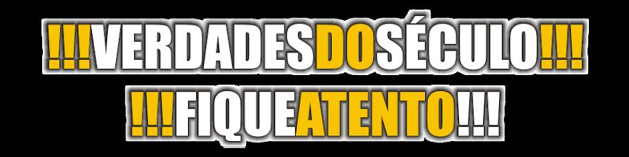 VERDADES DO SÉCULO