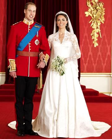 Kate Middleton con el Príncipe Guillermo, duque de Cambridge