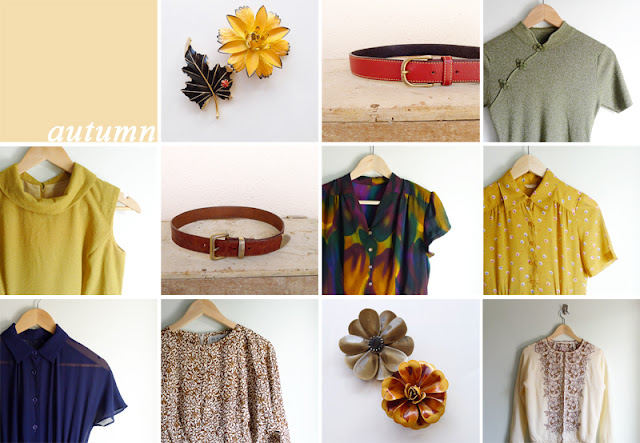 fall vintage clothing