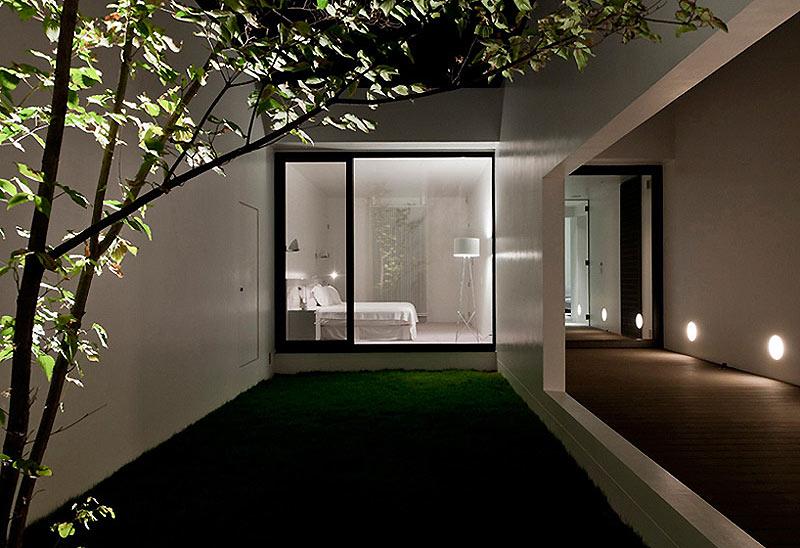 Especial i jap n en interiores minimalistas dise o de - Fotos patios interiores ...