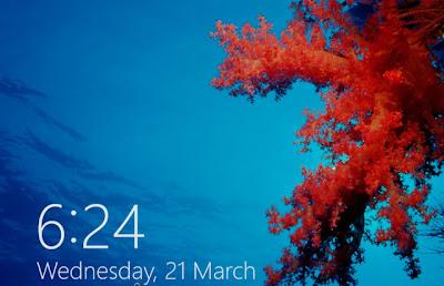 Hướng dẫn Tắt màn hình khóa trong Windows 8