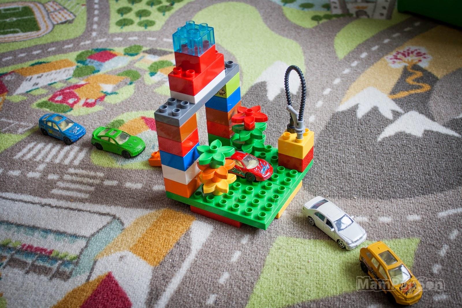 Автомойка из Лего