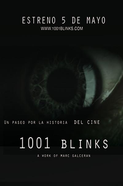 Cartel de '1001 Blinks'
