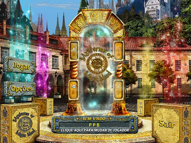 Mysteries of Magic Island PT-BR Portable