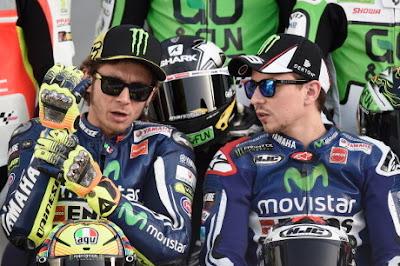 Mengukur Kekuatan Rossi - Lorenzo Sejauhn Musim Ini