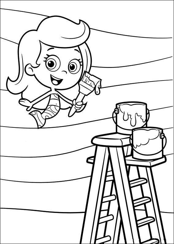 Bubble guppies coloring pages title=
