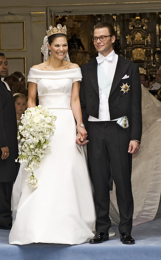 Readers Top 10 Wedding Gowns 1 Crown Princess Victoria Of Sweden
