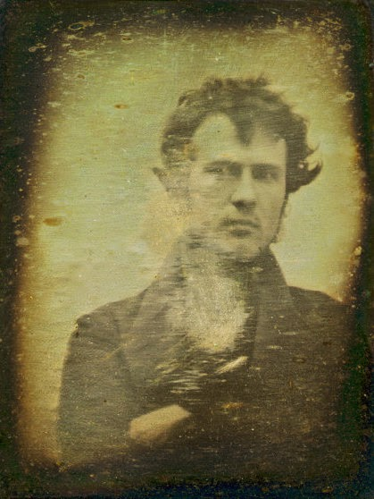 first every selfie, selfie, self portrait, portrait, photo, image, camera, mobile, oldest, 1839, Robert Cornelius, past, earliest,  philadelphia, american, usa