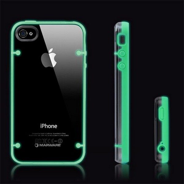 Glow-In-The-Dark Case For Apple iPhone 4 / 4S