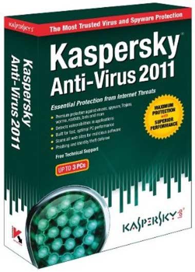Free Download Kaspersky Antivirus 2011 Full Version With Key