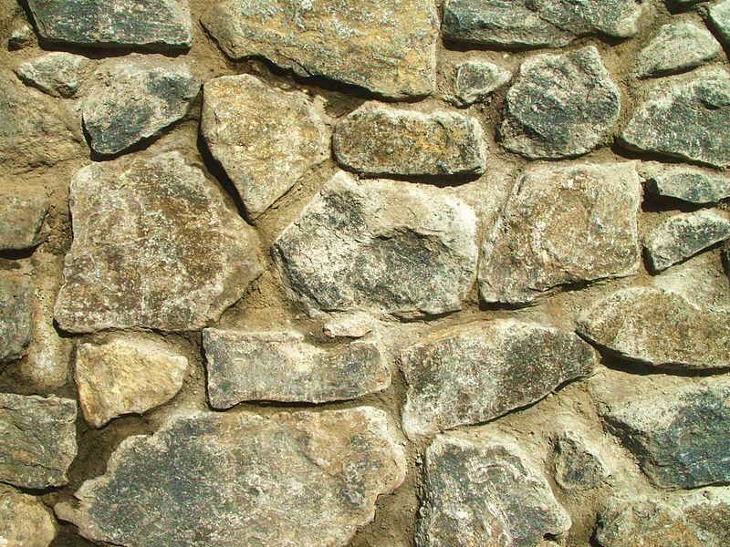 Textura de piedras de un muro - Piedras para construccion ...