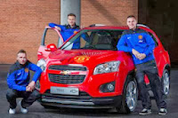 Manchester United si Chevrolet liciteaza un model Trax