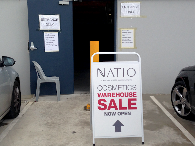 natio warehouse sale, review, thoughts, photos, twoplicates, beauty, blog,