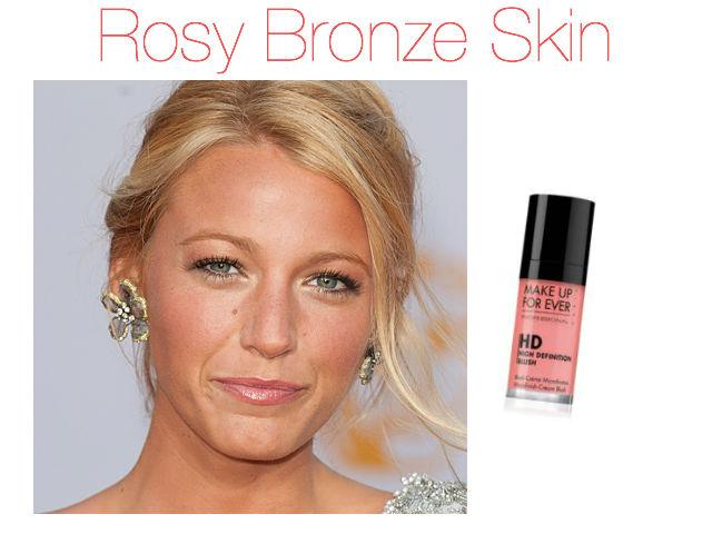 Maquilhagem Pele Bronzeada, bronzed makeup