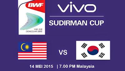 badminton Malaysia Vs Korea Selatan