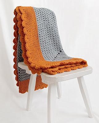free crochet pattern starburst baby blanket